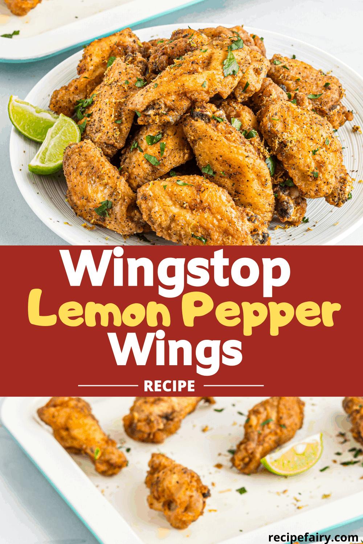Wingstop Lemon Pepper Wings Recipe