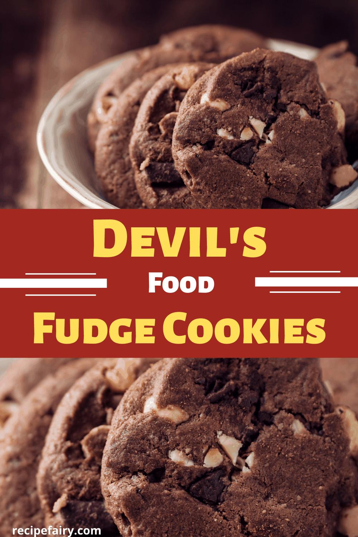 Devil fudge cookie