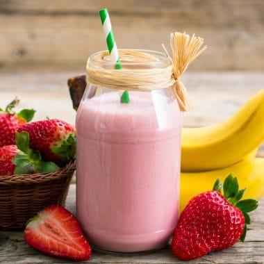 mcdonalds strawberry banana smoothie