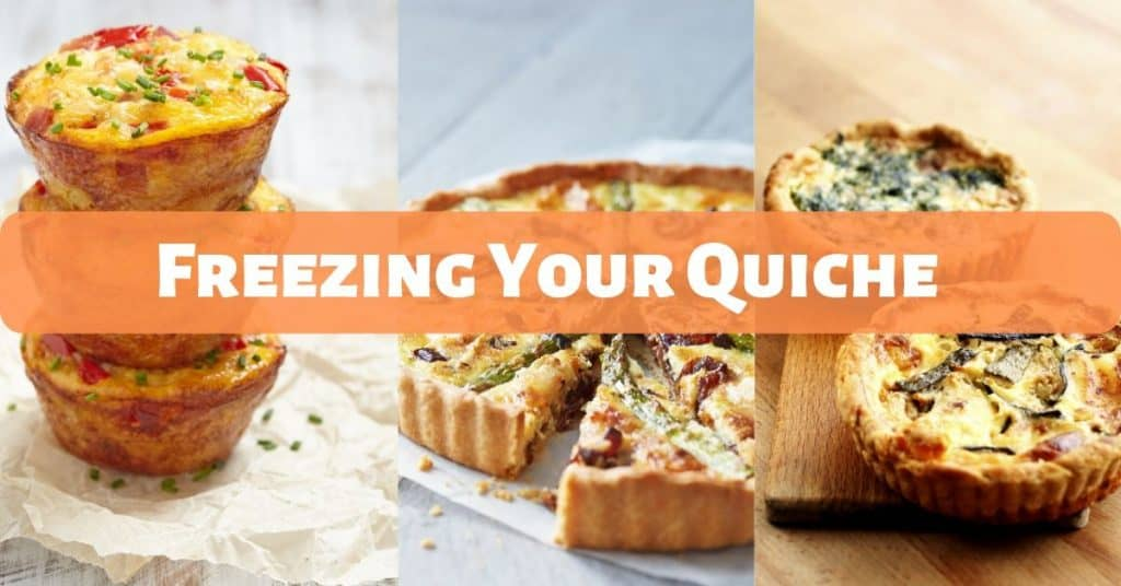 freezing your quiche