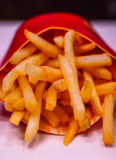 reheat mcdonalds fries