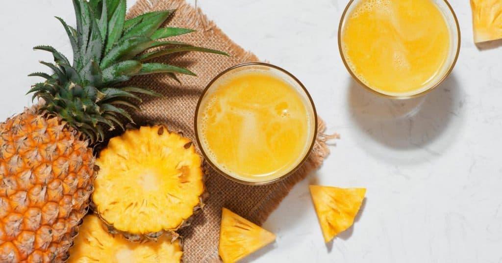 pineapple ripe