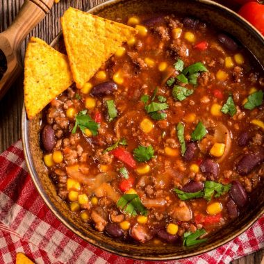 thickening chili