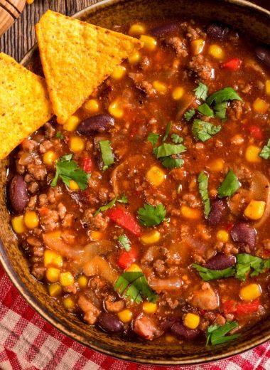 thickening chili