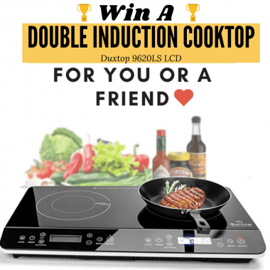 Duxtop double induction cooktop