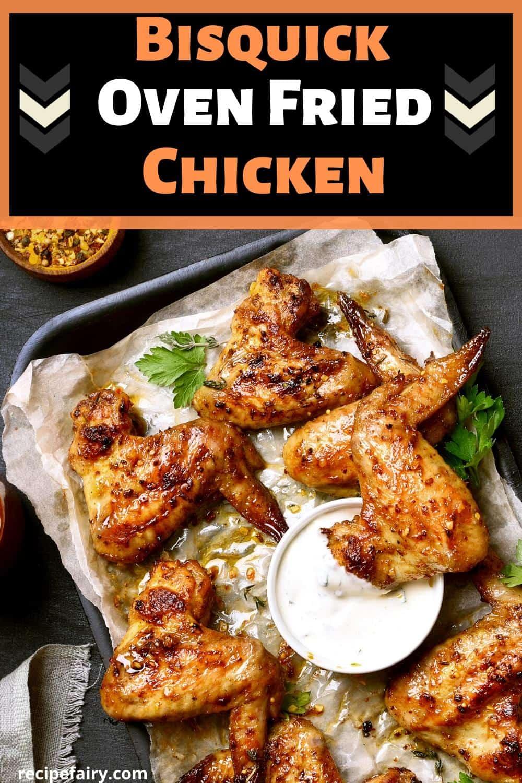 oven fried chicken bisquick