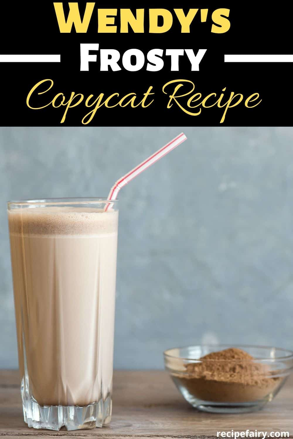 copycat wendys chocolate frosty