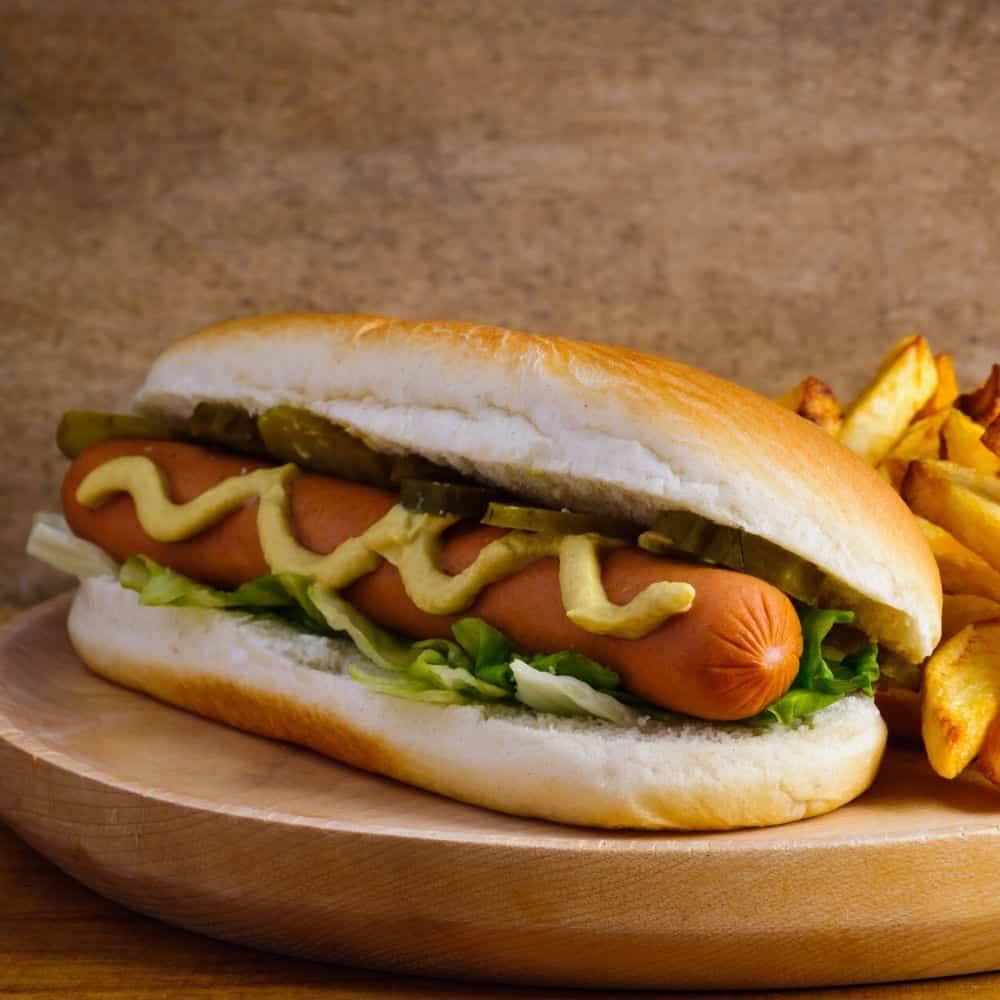 10 Minute Easy Air Fryer Hot Dogs Recipe » Recipefairy.com