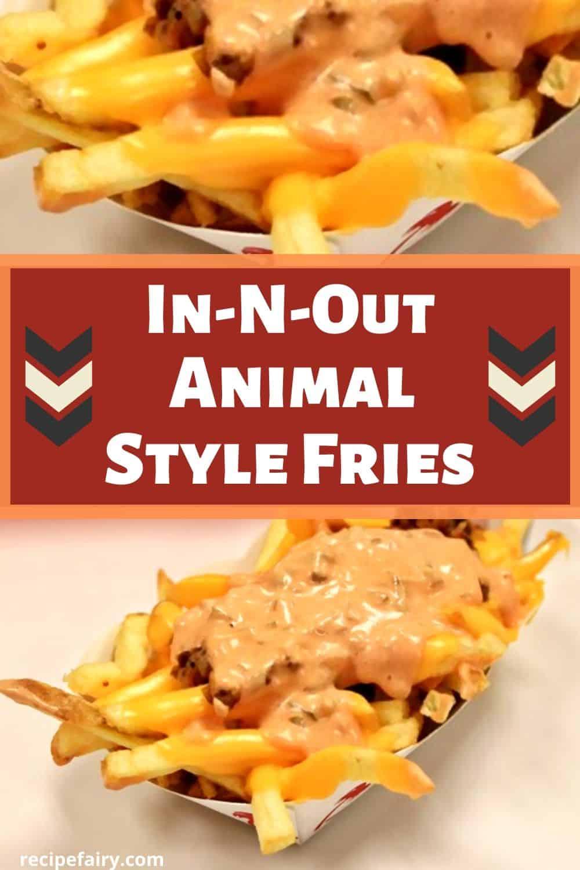 animal stye fries