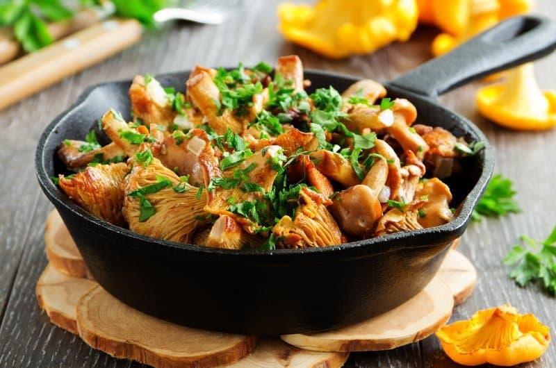 Chanterelle Mushrooms Recipe