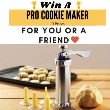 cookie making giveaway