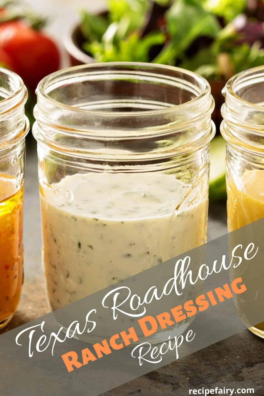 Texas Roadhouse ranch dressing