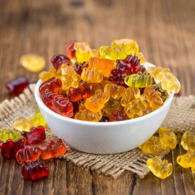 homemade gummy bear