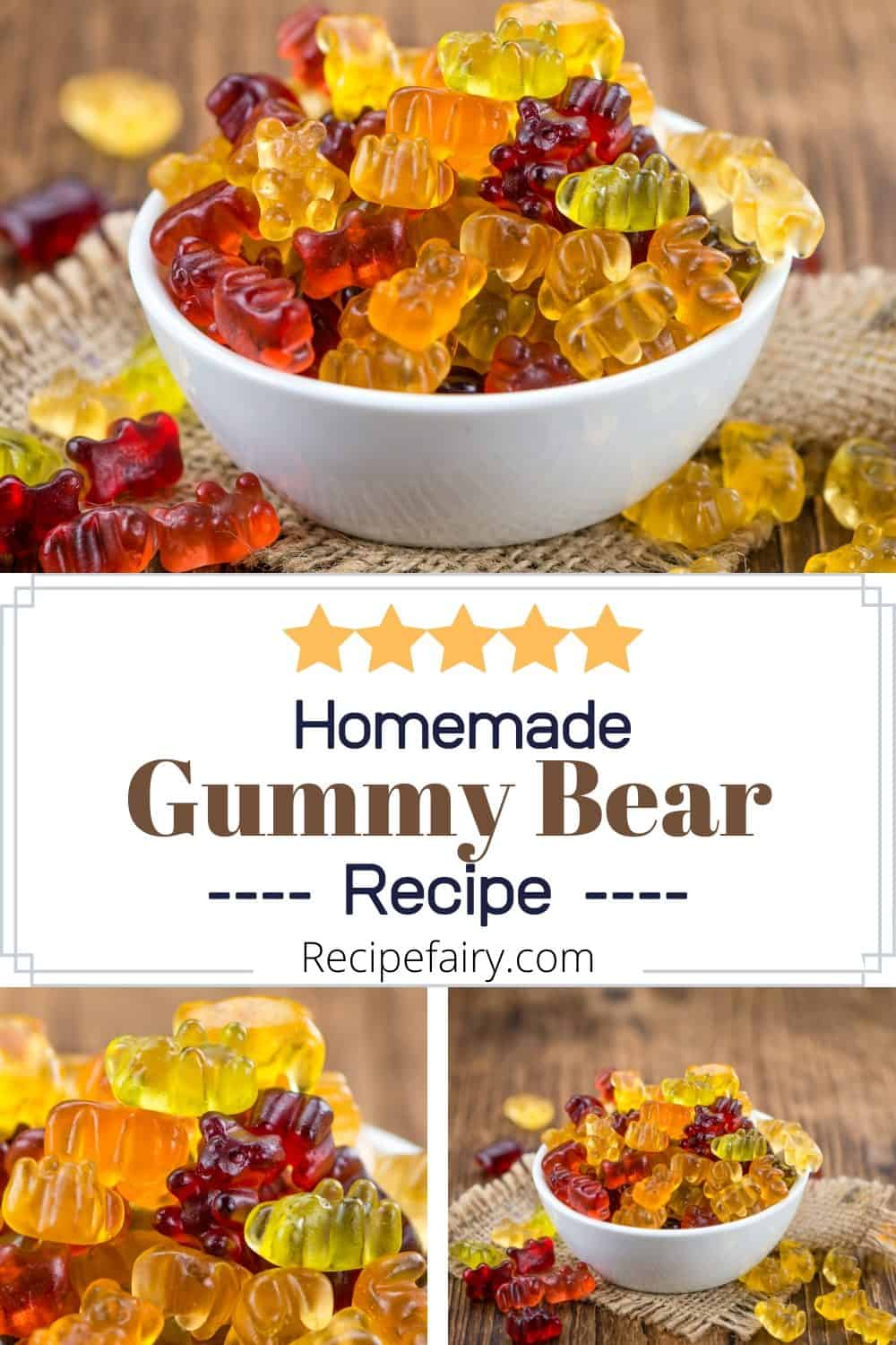 best gummy bear recipe