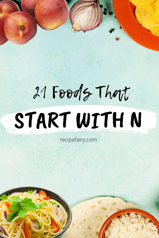 n foods
