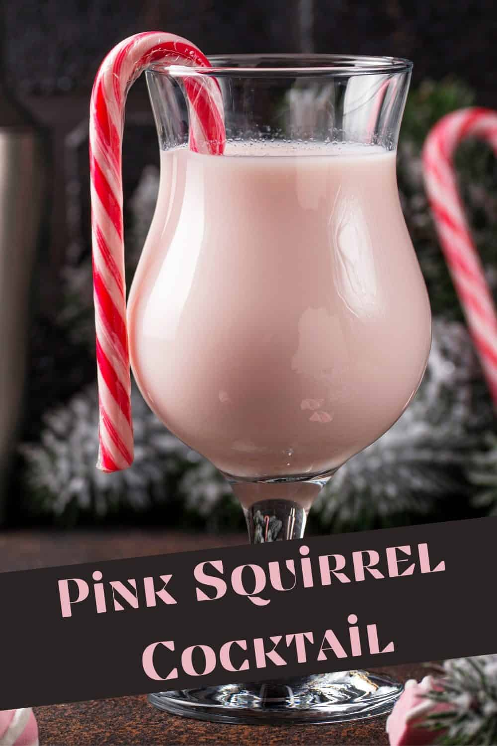 pink squirrel cocktail