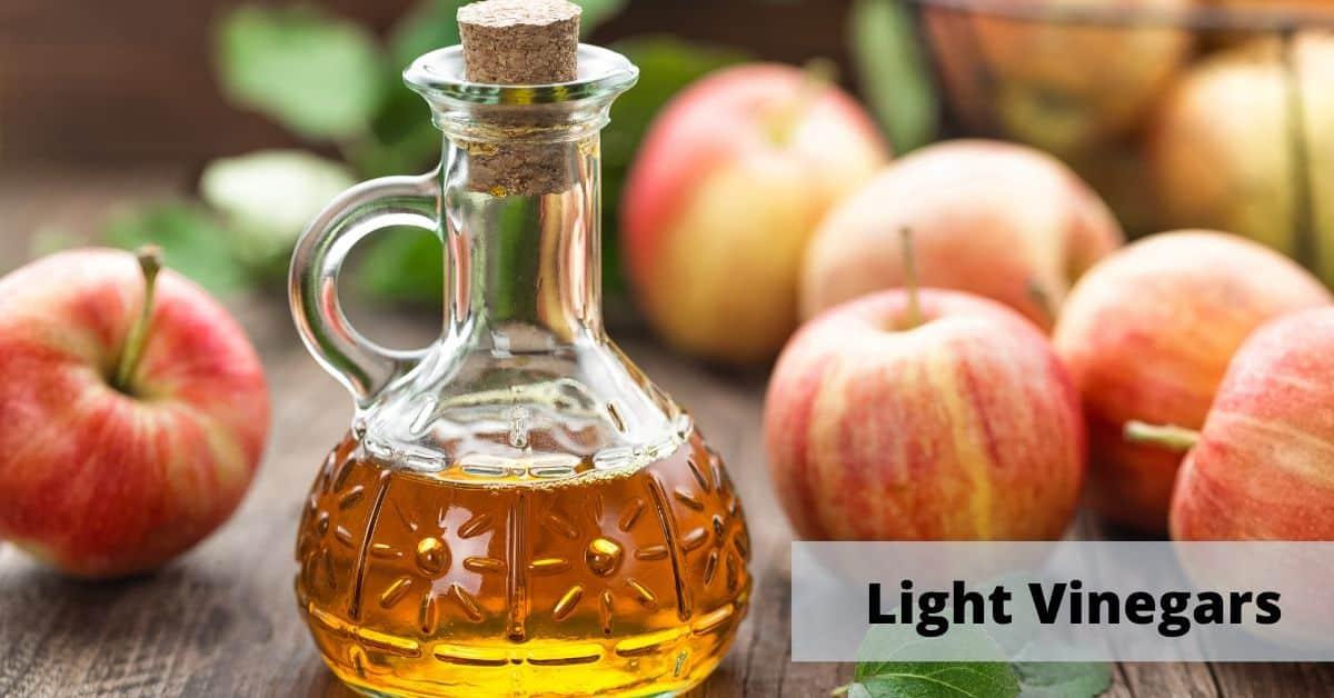 light vinegars