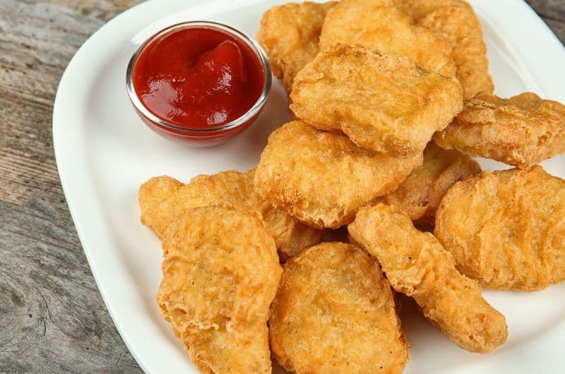Chicken Nuggets Mcdonalds Herstellung