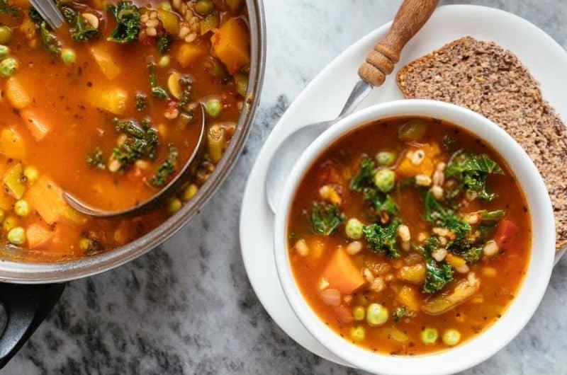 Olive Garden Minestrone Soup Recipe Recipefairy Com