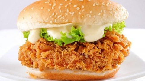 Kfc Zinger Burger Recipe Recipefairy Com