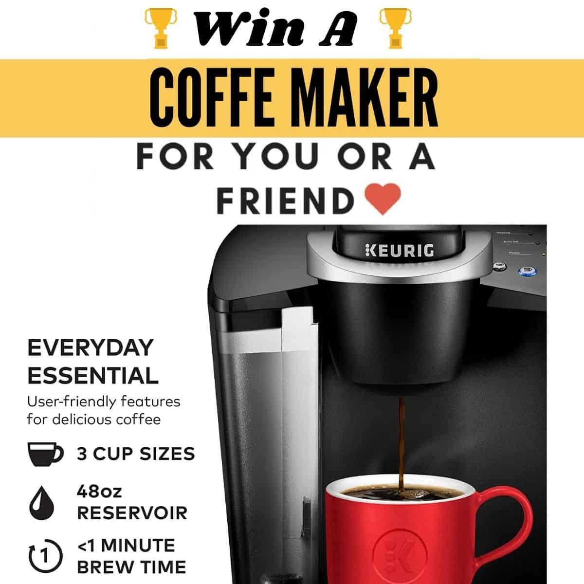 Keurig K-Classic Coffee Maker » Recipefairy.com