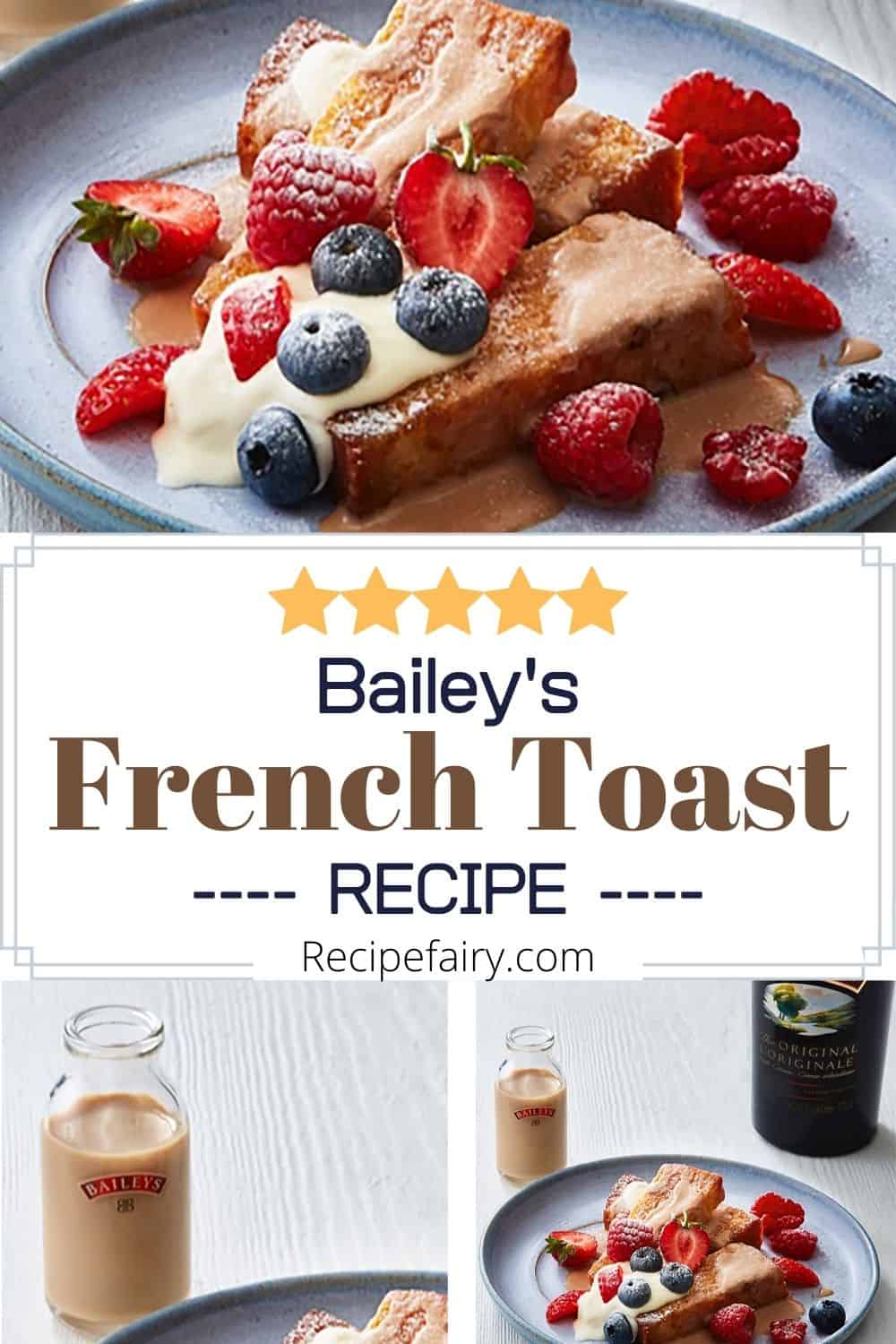 bailey's french toast dish